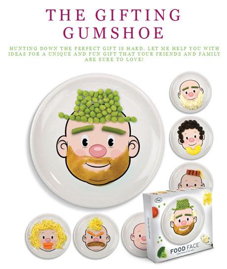Gifting gumshoe