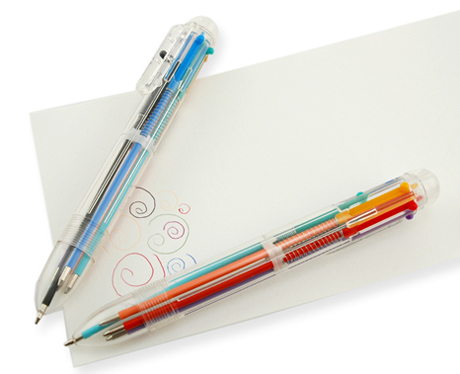 6 color pen