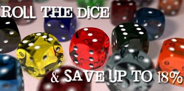 Sale day dice