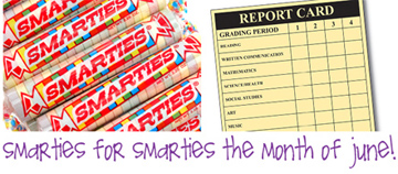 Sale day smarties