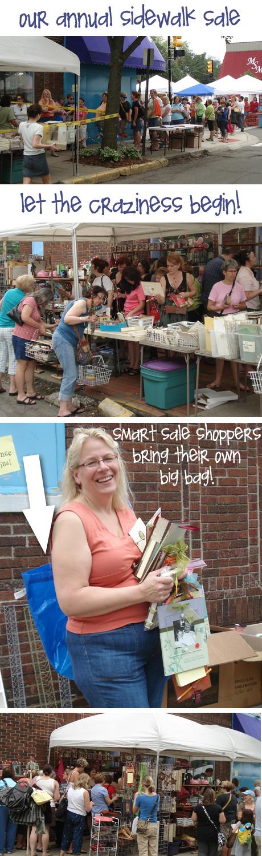 Sidewalk sale blog