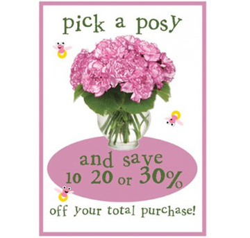 Sale day posy