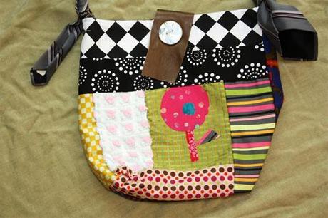 The bag girl
