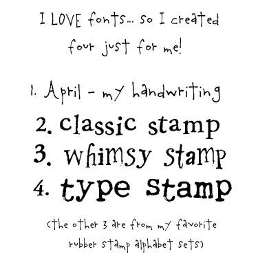 Fancy Fonts Just For You