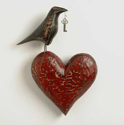 Ravenheartwallsculpture